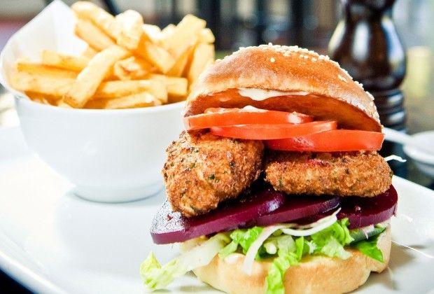 The Brain Burger - The Larder 2012 #WellyOnaPlate