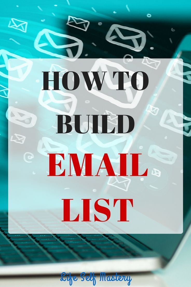 The only thing you control other than your blog is your email list. Build your email list and make money. Click though to learn how to build an email list.