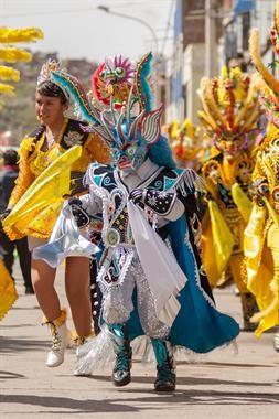 Acabo de compartir la foto de Ronald Alex Espinoza Marón que representa a: Diablada puneña