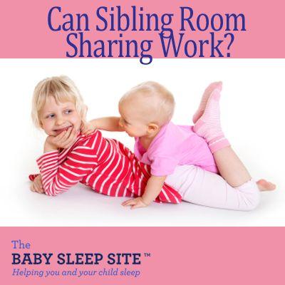 7 Tips To Successful Sibling Room-Sharing #baby #sleep #tips