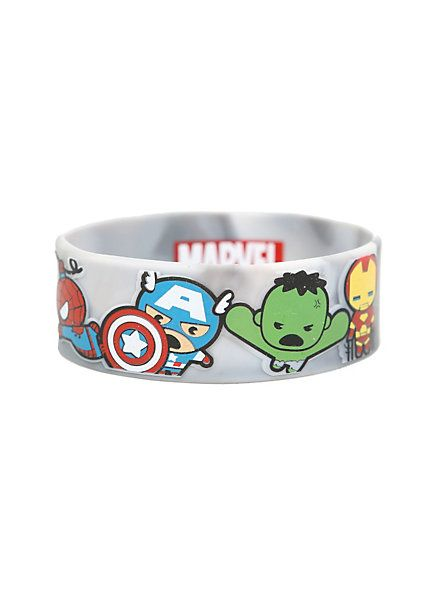 Marvel The Avengers Kawaii Rubber Bracelet | Hot Topic