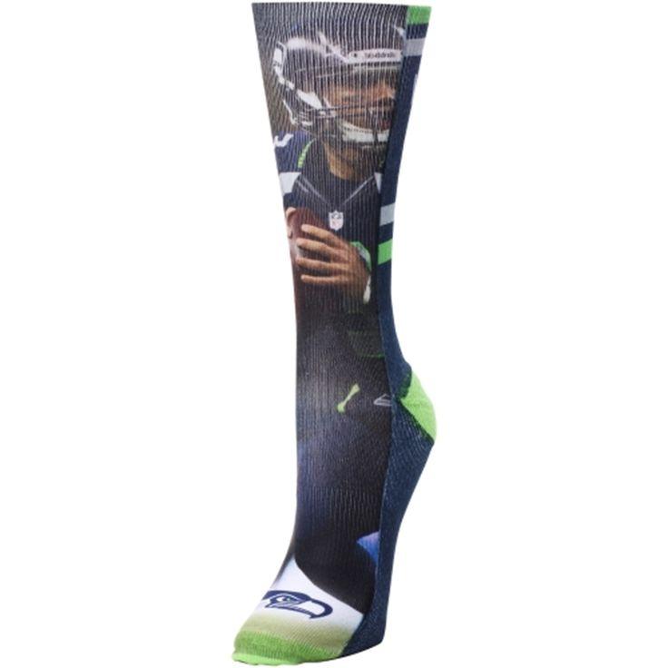Nike NFL Mens Jerseys - Women's Seattle Seahawks Russell Wilson Jersey Socks | Russell ...