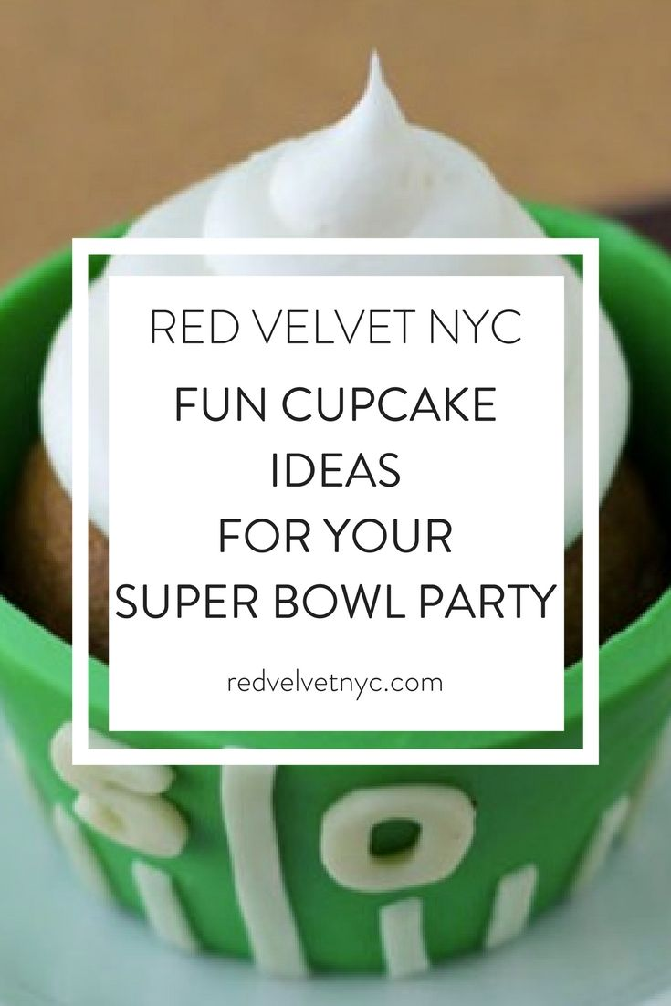 Hosting a Super Bowl party? Your guests will love these yummy desserts. These fun cupcake ideas are sure to be a hit!