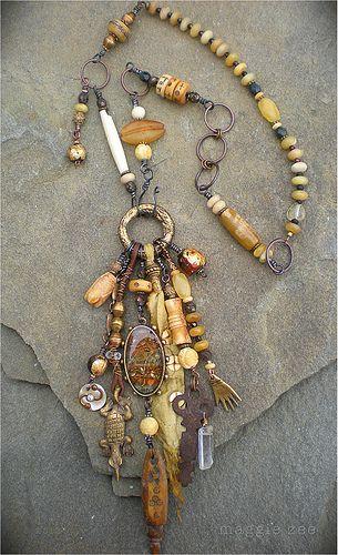 Healing Amulet Necklace by Maggie Zee | www.maggiezee.blogsp… | Flickr