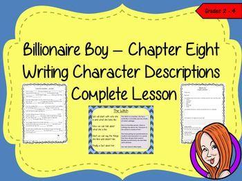 billionaire boy writing activities