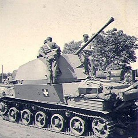 Nimrod anti-aircraft tank
