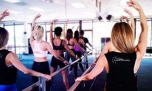 Groupon - $ 39 for 5 Cardio Barre Fitness Classes at Cardio Barre in Thousand Oaks ($100 Value)   in Thousand Oaks. Groupon deal price: $39