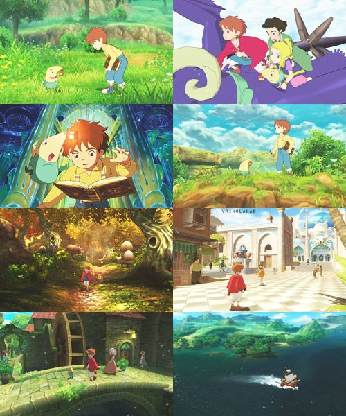 Ni No Kuni! <3 This game is so beautiful!