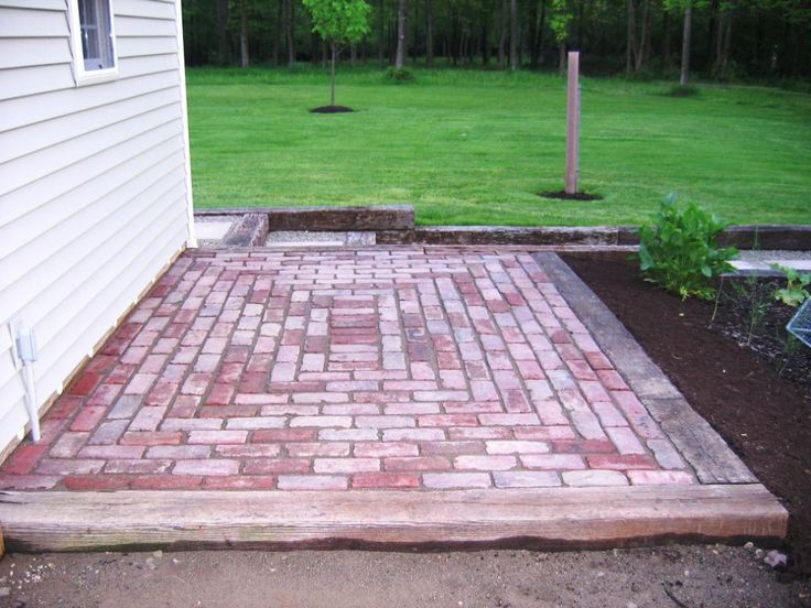 17 best ideas about small brick patio on small