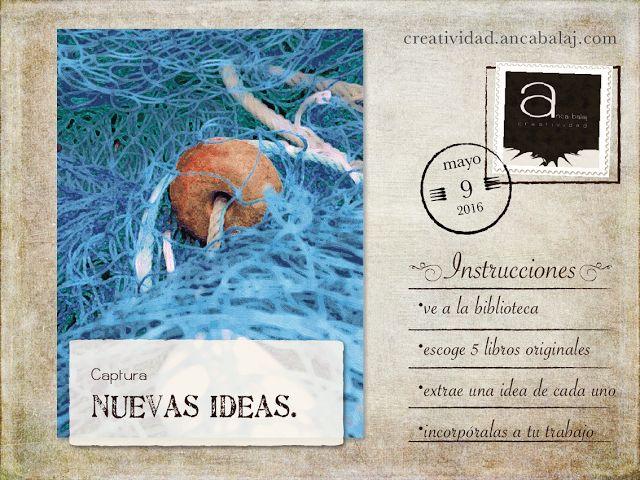 Creatividad: Captura nuevas ideas