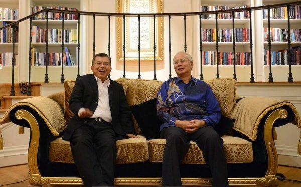 Wapres Kalla-PM Najib bicarakan pendidikan anak TKI