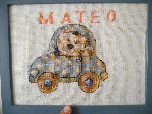 Para mi sobrinito Mateo
