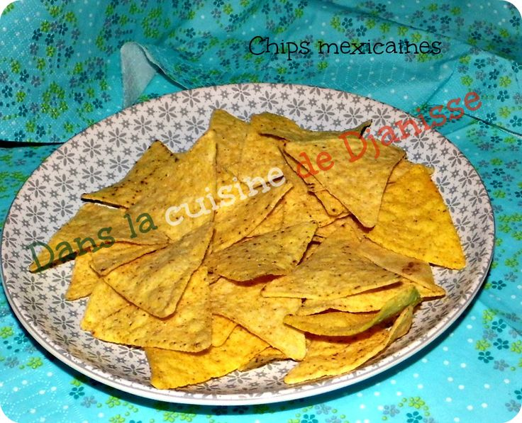 Chips mexicaines - Vegan