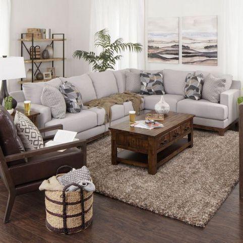 32+ Dark Gray Sectional Living Room Farmhouse For Dummies 7 ...
