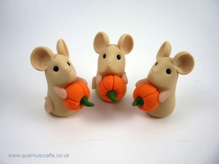 Tiny Pumpkin Mice
