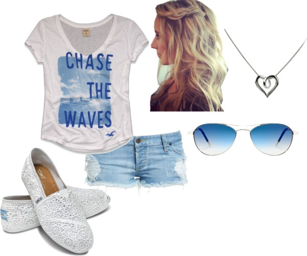 """""""Surfer Outfit"""" by rachelstyles26 on Polyvore"""