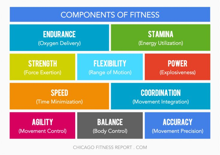 10 components of physical fitness crossfit - Google Search