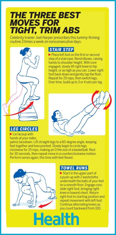 Ada 3 gerakan olahraga mudah yang dapat mengecilkan perut. Simak tipsnya di sini.