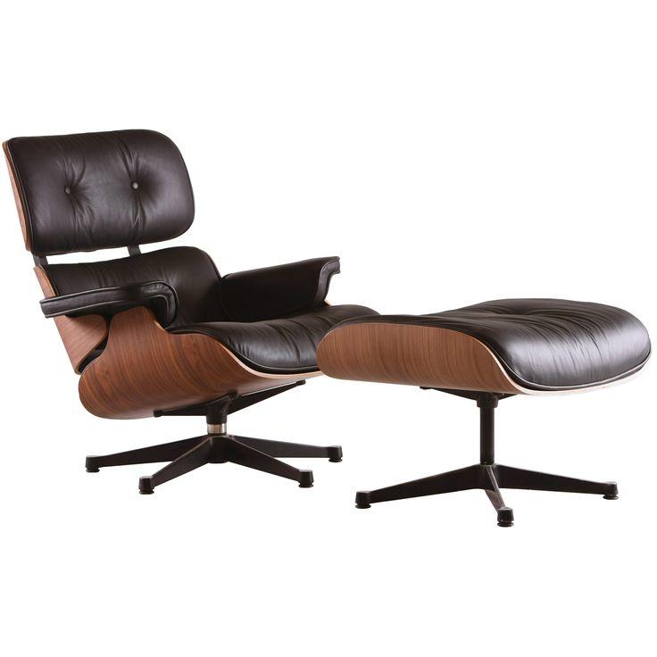Lounge chair y ottoman. DDiseño.