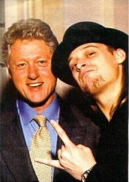 "Kid Rock & Bill Clinton!!  Wonder If They ""Fired It Up"" At The White House!!"