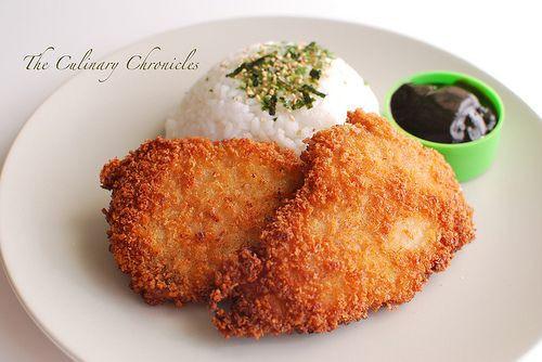 Tonkatsu Sauce: 2 Tablespoons Barbecue Sauce 2 Tablespoons Ketchup ½ Tablespoon Soy Sauce 1 Teaspoon Worcestershire Sauce 1 Teaspoon Rice Wi...