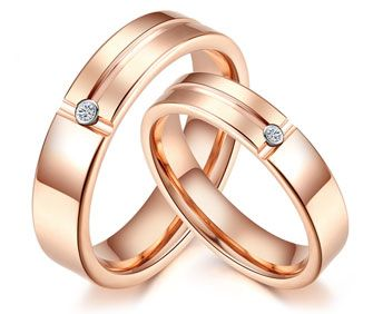 his and her diamond band rings - Google Search