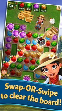 FarmVille Harvest Swap(Mod Money,Unlimited Money,Unlimited Diamonds) Is Puzzle GAME . Download FarmVille Harvest Swap(Mod Money,Unlimited Money,Unlimited Diamonds) Apk With Direct Link Is Free!