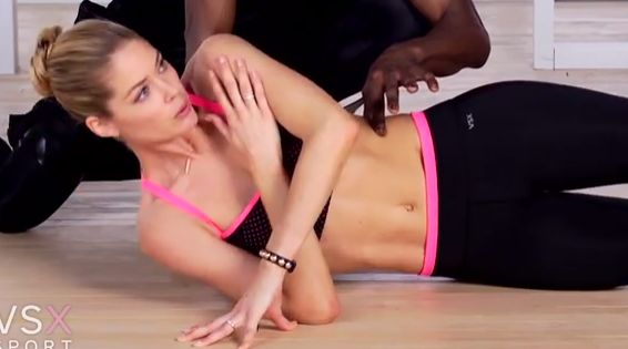 Video van de week: trainen met Doutzen #buik #workout #core #Victoriassecret #angel