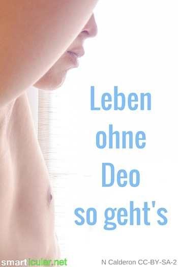 Leben ohne Deo - so geht's - Wie entsteht Körpergeruch und kann man ohne Deodorant leben?