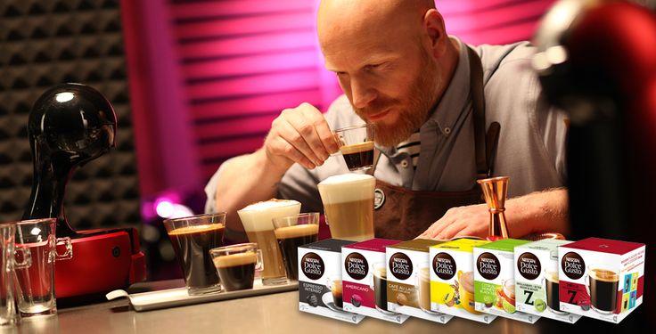 Nå kan du som kaffeelsker nyte masse god kaffe fra din NESCAFÉ® Dolce Gusto®-maskin! Som buzzador får du teste ulike Dolce Gusto® Kapsler.
