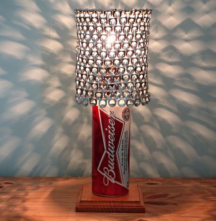 Lampade-artistiche-lattine-di-birra-riciclate-design ...