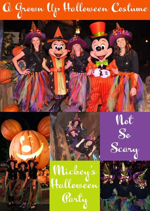 "Creating A Not So Scary, Minnie Mouse Grown Up Halloween Costume -- This is perfect!  I didn't really want to wear a full costume ... but this is so cute and would at least let me ""dress up"" a little bit!"