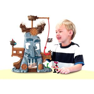 Fisher-Price Jake and the Neverland Pirates - Hook's Adventure Rock Play Set