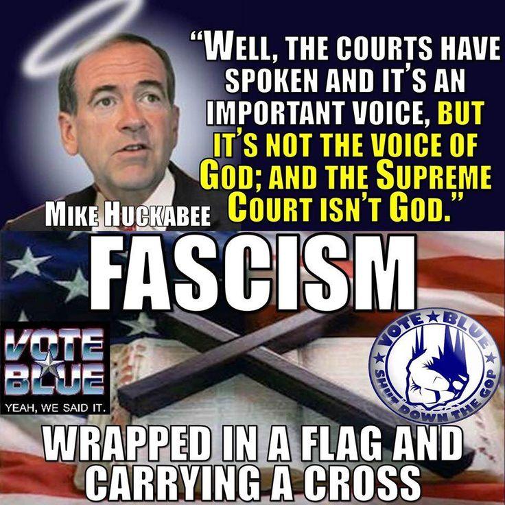 Fascism has arrived