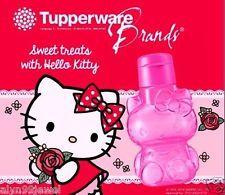 NEW Tupperware Hello Kitty Pink Drink Bottle Flip Top 425 ml