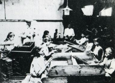 Sigarenfabriek Eindhoven ca1890 - Industriële revolutie in Nederland - Wikipedia