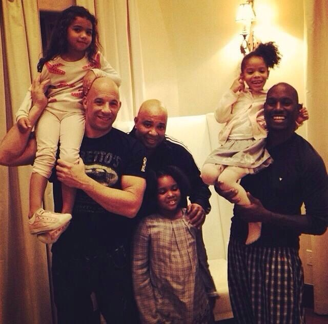 Vin Disel and Tyrese with their children | Celebrity dads ...Vin Diesel Mother