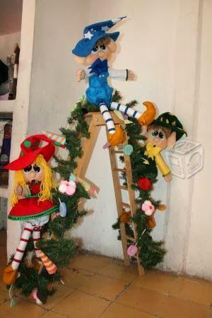 navidad con patrones: Duendes navideños