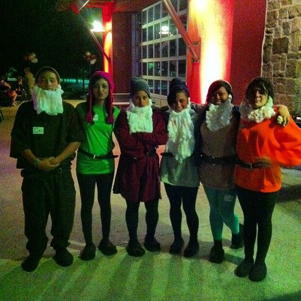 Pin for Later: 59 Creative Homemade Group Costume Ideas Seven Dwarves Have seven other people you want to team up with? Be the seven dwarves and Snow White!