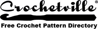 "Free Crochet Patterns  Since the ""downfall"" of a certain pattern directory site, crocheville has created a database. Please enjoy!"