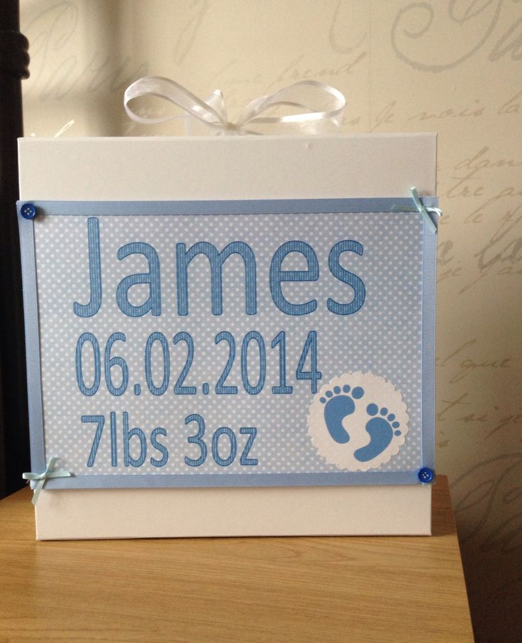 Baby Keepsake Boxes from £10 Visit Creative-Keepsakes on Facebook