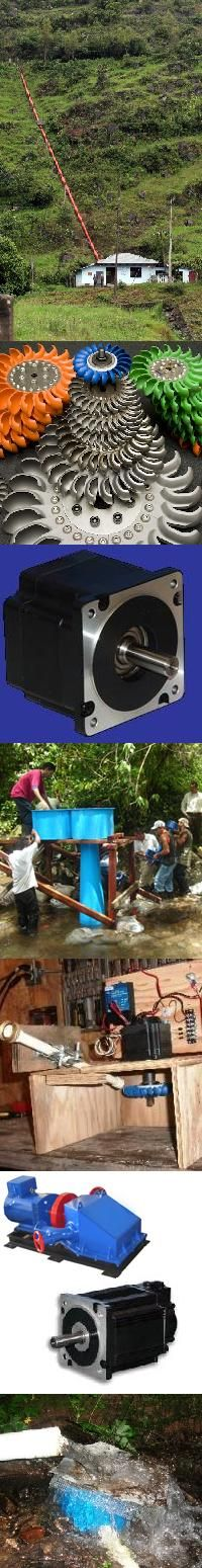 www.rockyhydro.com  Info on water turbine systems