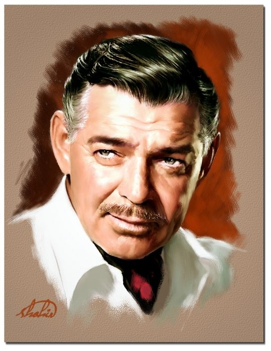Clark Gable by shahin