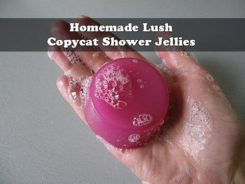 Homemade Lush Copycat Shower Jellies  Are you looking for something to make bath time more fun for everyone in the family? Try switching out your regular s
