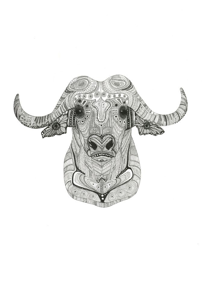 Water Buffalo Tattoo tattoo aspirations Buffalo tattoo