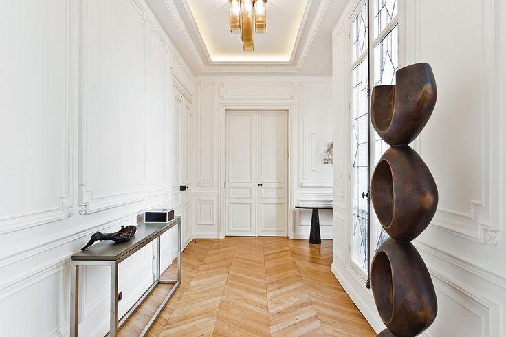 Hall d 39 entr e hall pinterest recherche design et entr es - Decoration entree couloir ...