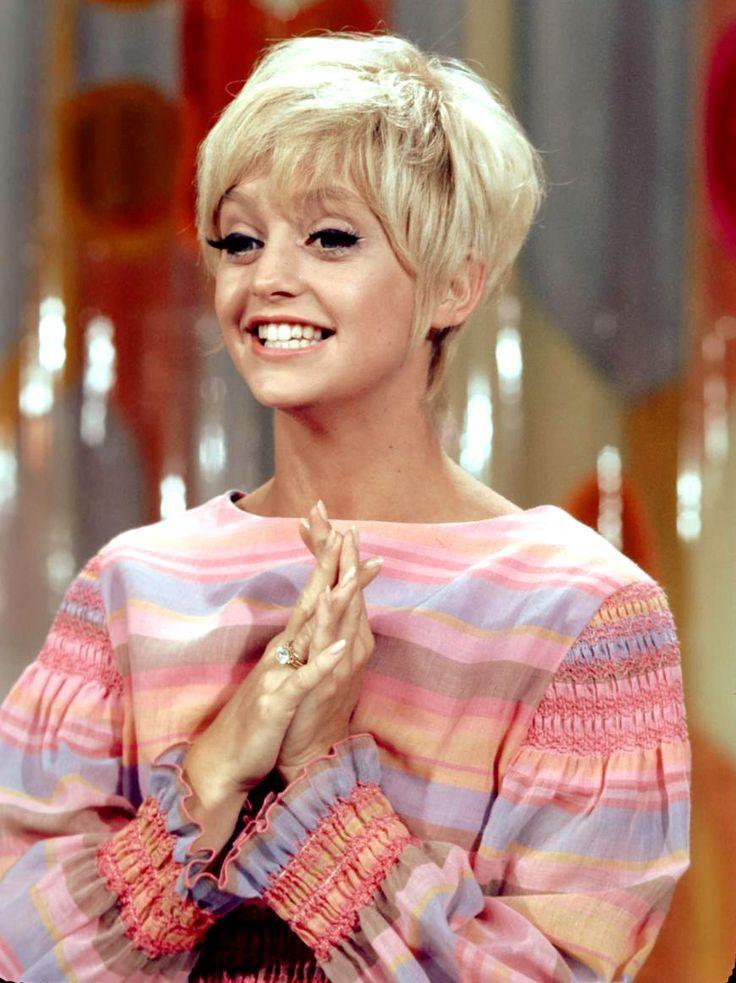 Rowan Martin Laugh Sock Goldie Hawn