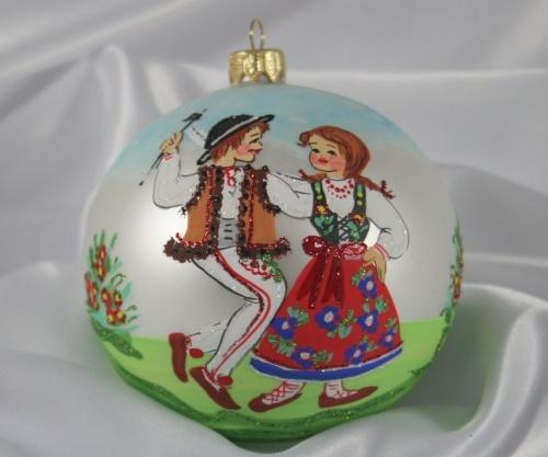 Polish Ornament $23 Gorale Dancers from S@D Polish Deli