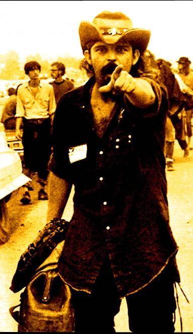 "Ronald Charles McKernan (""Pigpen"") was one of the founding members of The Grateful Dead, Woodstock, 1969"