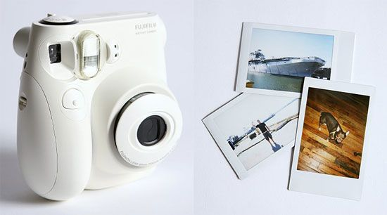 Use fujifilm instax to snap photos of guests as they enter; use washi tape into guestbook that they can caption with metallic pens.